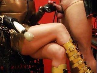 Golden boots golden mistress...