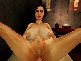 Sfm legs up test sex animation...