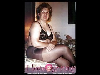 Ilovegranny amateur old grannies show naked sexy body...
