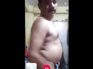 Hot INDIAN daddy striping full NAKED