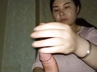 Asian happy ending massage handjob expert 6...