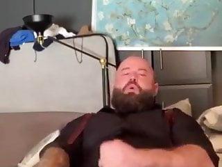 Hot bearded wanker...