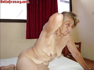 Hellogranny latina step moms and all stripped...