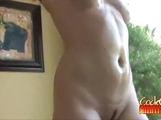 Cock Sucking And Titty Fucking Oiled Amateur Piper