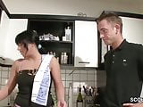German Hot Step-Mom Seduce to Fuck by Virgin Step-Son