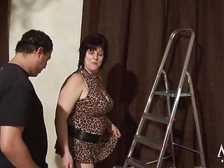 Mature likes fat cock...