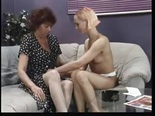lesbian intercourse with a old woman ginger lady through hardiron