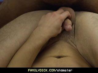 FamilyDick – A Cute Teen Demands His Stepdad Fuck His Mouth