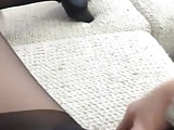 Brief masturbation pantyhose