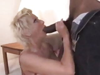 Busty blonde cougar cock blowjob titfuck...