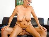 AmateurEuro -BBW GILF Angelika J. Has Sex With An Old Friend