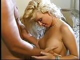 Hot blonde gets her nice round tits grabbed and fucked