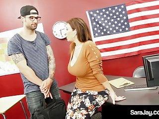 plump professor sara jay fucked & cummed on by hard student!HD Sex Videos
