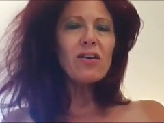 Gorgeous Redhead Mature Chick, Homemade Sex