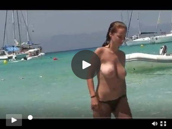 group of topless friends on the beach  one with huge titssexfilms of videos