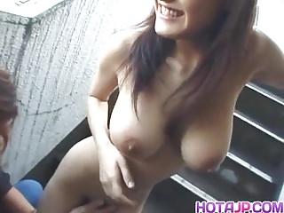 Sassy big tits Mayu Kotono enjoys gett – More at hotajp.com