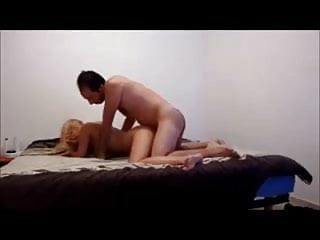 cheating blonde wife gets quickie on homemade