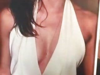 cum on Emma her tits Watson
