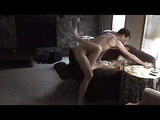 Living room sex...