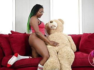 Peach Fuzz and Mr. Teddy-Cake Humper