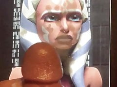 Ahsoka Tano (Star Wars) Cum tribute #2