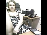 Sexy Secretarian Masturbate