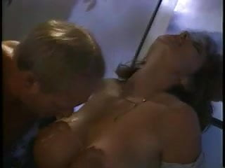 Own cum lick from titts 2
