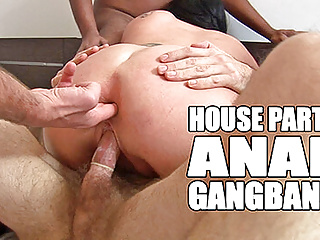 gangbang Anal with double penetration