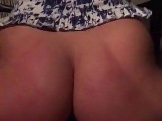 Curvy butt close up...