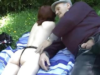 91.#grandpa #old young #old man young girl