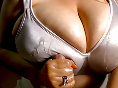 Handjob - Heavenly wife making me a cock massage