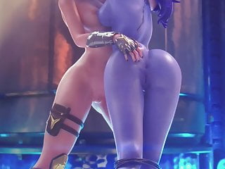 Ashe x (Overwatch) Tribute Widowmaker Cum