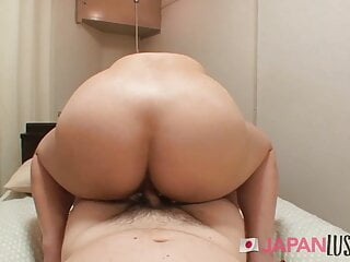 Plump JAV mommy Teen amateur Secures Stuffed With Cum