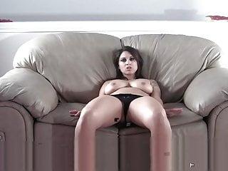 Shesnew Tattoo big tits brunette Roxsy strip tease solo girl