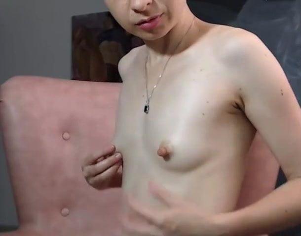 Long big hard nipples small tits