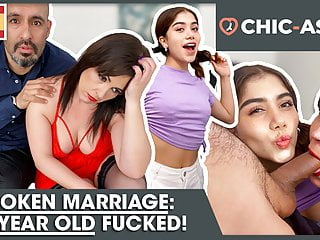 Marriage broken! 18-year-old fucked! CHIC-ASS.com
