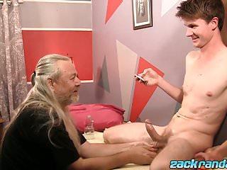 Js wild cock massaging sexy twink aidan young...