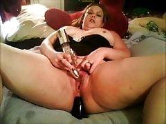 Cari Jo Ross Fucking Her Ass With Dildo