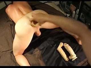 Fisting a ass on doggy...