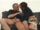 German Milf Gets satisfied after a fight