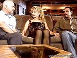 Big Tit Blonde Swinger Threesome