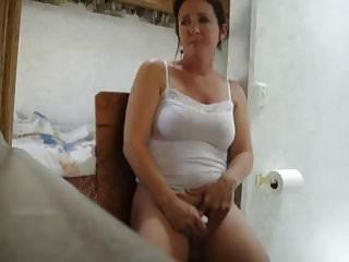 Women finish masturbate caught...