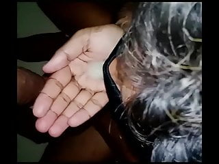 Fuck by Deep Black Cock & Huge Creamy Load Swallowing