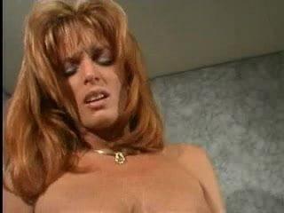 Brunette lesbian plays with big clit redhead's labia pt3