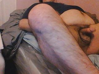 jerking off in bed