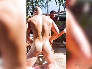 سکس گی Gee Monroe, Kenzo Alvarez & Malik Delgaty twink  outdoor  muscle  hunk  hd videos gay outdoor (gay) gay bareback gangbang (gay) gangbang  blowjob  big cock  bareback