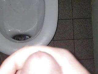 Public Toilet Cumshot