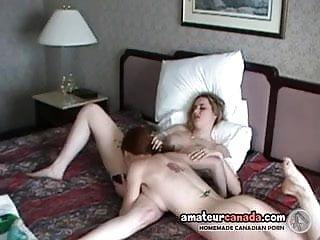Busty Redhead Licks Lesbian Dyke