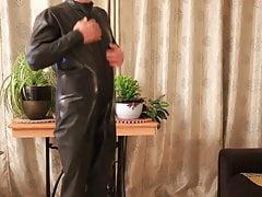 Black Rubber Catsuit