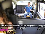 Female Fake Taxi Milf gives hung stud lessons in oral sex